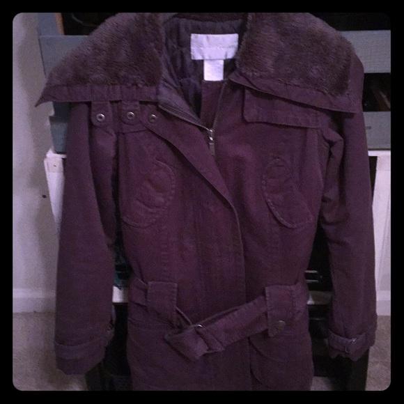 BB Dakota Jackets & Blazers - BB Dakota Gray w/ Fur Collar Coat